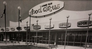 The Arden Fair Food Circus was one of the highlights of the mall's early years. (Photo courtesy of Arden Fair Mall)