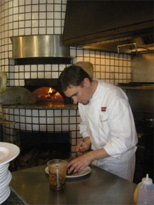 Hard at work: Ryan O'Malley is the executive chef at Piatti's, located at 571 Pavilions Ln. (Photo by Elizabeth Kalfsbeek)