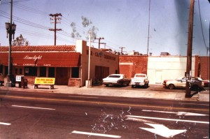 The Limelight is shown in its earlier years before the construction of its covered patio annex on the north side of the building. (Photo by Lance Armstrong)
