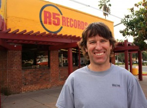 Sacramento native Mark Alling purchased his first record album at Tower Records at 16th Street and Broadway in about 1975 when he was 8 years old. (Photo by Lance Armstrong)