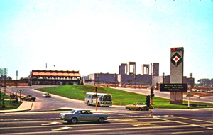 Cal Expo is shown in this photograph, taken in 1968, the year the State Fair was first held at this site. (Photo courtesy of the Lance Armstrong Collection)