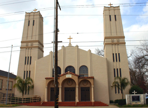The Greek Orthodox Church of the Annunciation has been a part of East Sacramento since its opening in 1951. (Photo by Lance Armstrong)