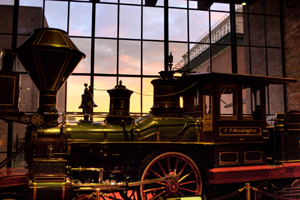 The California State Railroad Museum, located at 111 I St., is a complex of historic facilities and unique attractions. (Photo courtesy Orin Zebest)