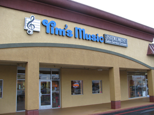 Tim's Band Instrument Service has a new home in the area, just 1.8 miles from its old one on Arden Way. The new location is 2812 Marconi Ave. (across from Town & Country Village). (Photo by Benn Hodapp)