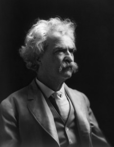 The man, the legend: Mark Twain.