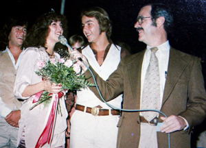 Mayor Phil Isenberg, a graduate of El Camino High School, participates in the school's 1978 homecoming. To his left is homecoming queen Michele Fielding. (Photo courtesy of El Camino High School)