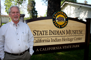 Rob Wood, who serves as the heritage center's project manager, has p