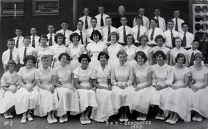 The 1953 graduates of Sacred Heart School are among the school's more than 3,000 alumni. (Photo courtesy of Carolyn Granucci)