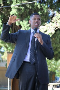 Sacramento Mayor Kevin Johnson (Valley Community Newspapers photo/Stephen Crowley)