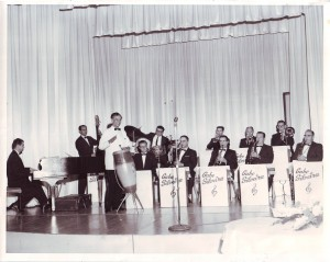 Gabe Silveira performs with his orchestra in this early 1960s photograph. / Photo courtesy of the Silveira family