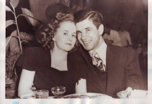 Gabe and Gloria Silveira, who were married on Nov. 20, 1933, are shown at the El Rancho Hotel in the 1940s. / Photo courtesy of the Silveira family