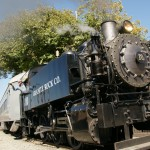 California's first passenger railroad, The Sacramento Valley Railroad, started in 1855 and ran from Sacramento to Folsom.