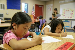 School breaks are shorter and school days are longer at Yav Pem Suab Academy. / Valley Community Newspapers, Danny Kam