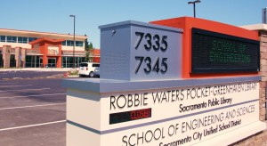 The LEED-nominated Robbie Waters Pocket-Greenhaven Library opened Aug. 28 and cost $15 million to build.