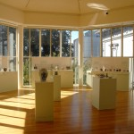 Asian art has more space at the Crocker Art Museum. Windows throughout the museum allow the visitor to orient to the outdoors. / Valley Community Newspapers photo, Tom Paniagua