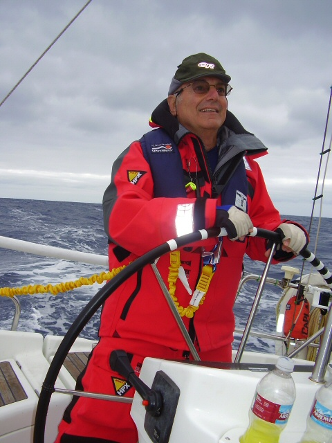 Sacramento resident Michael Caplan loves to sail the Pacific Ocean from San Francisco to Hawaii. His voyages have involved encounters with flying fish, squid and whales.