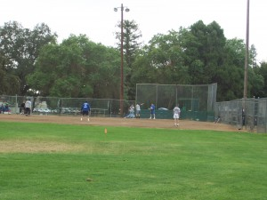 Carmichael Park, which began through the construction of a baseball field, is presently home to five softball diamonds. / Photo courtesy of CRPD