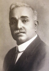 Charles F. Silva is shown at the age of about 55, around the time he acquired the old Weinstock-Lubin and Co. department store building at 4th and K streets. / Photo courtesy
