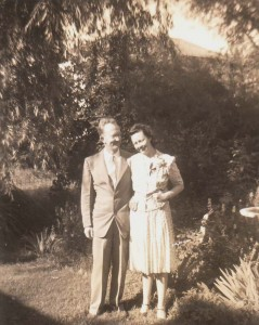 Genevieve and Rodney Cobb are shown in this June 8, 1948 photograph, which was taken just one day following their marriage. / Photo courtesy, Genevieve Cobb