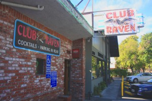 Club Raven at 3246 J St. is the most notable landmark on the former site of the Jewish cemetery in East Sacramento. / Valley Community Newspapers photo, Lance Armstrong