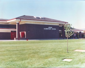 Lisbon Elementary School at 7555 South Land Park Drive is shown in this 1989 photograph. The school was closed last year. / Photo courtesy of PHCS