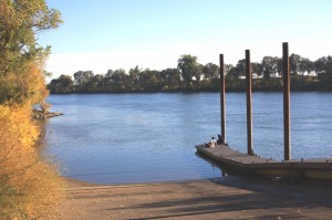 The Garcia Bend Park boat ramp is one of the park's most popular features. / Valley Community Newspapers photo, Lance Armstrong