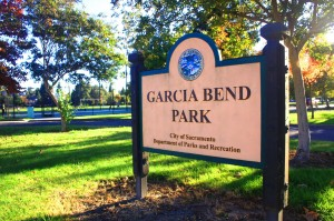 Garcia Bend Park was named in recognition of Pocket pioneer Manuel Da Rosa Garcia. / Valley Community Newspapers photo, Lance Armstrong