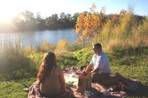 Garcia Bend Park is used for a variety of activities, including picnicking along the river. / Valley Community Newspapers photo, Lance Armstrong