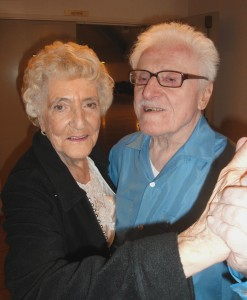 Meyer Tuplei (right), shown dancing with a female partner, said that at 93 years old, he still feels good on the dance floor. / Valley Community Newspapers photo, Lance Armstrong