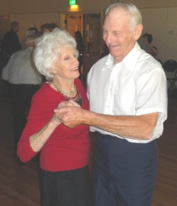 A couple dances at last Tuesday's senior dance at the Mission Oaks Community Center. / Valley Community Newspapers photo, Lance Armstrong