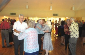 Senior dances are held at the community center every Tuesday and Wednesday. / Valley Community Newspapers photo, Lance Armstrong