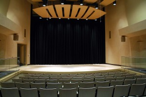 The arts center's most intimate venue, Stage Three is a 100-seat recital hall that will be a great place to see and hear acoustic music and vocals. / Valley Community Newspapers photo, Tom Paniagua