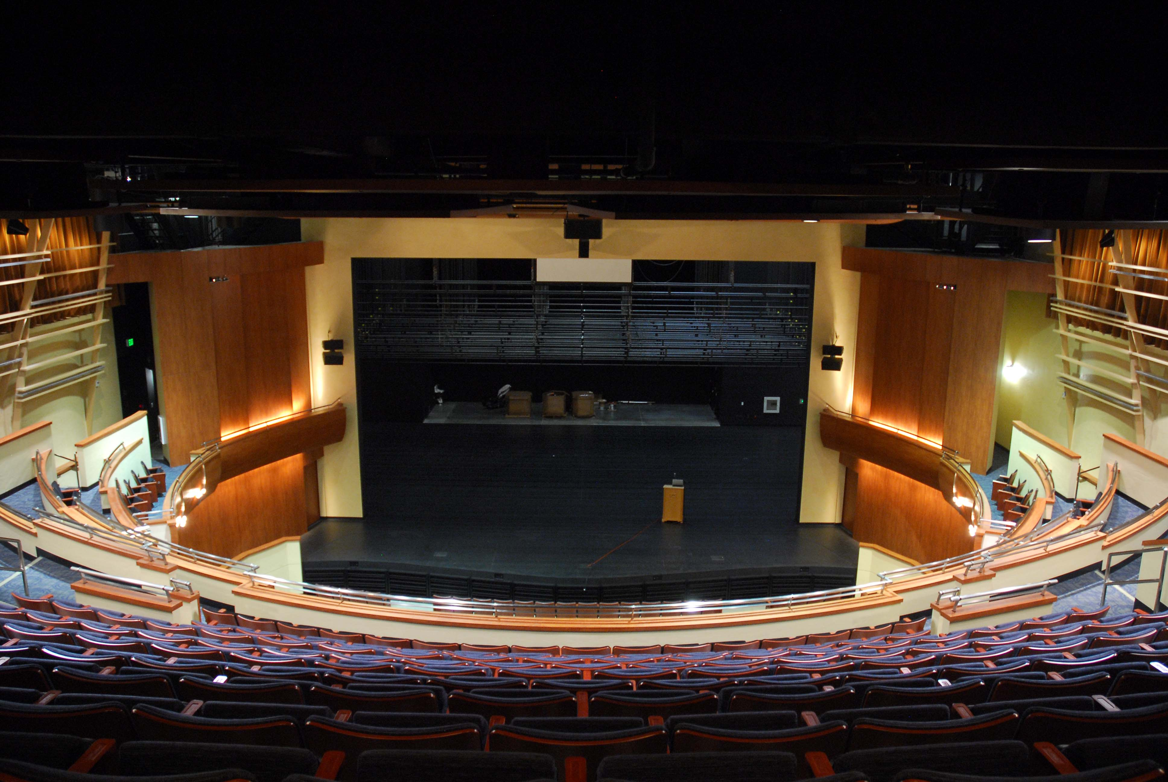 Stage One boasts excellent acoustics and sightlines for audience ...