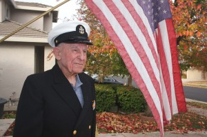 "Following his time as a Pacific Coast League umpire, P.R. ""Tony"" Tonelli served in the Navy during World War II. / Valley Community Newspapers photo, Lance Armstrong"