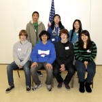 January's Middle School Students of the Month. Front row, left to right, Walter Spurlock (California), Kevin Abdelnour (Genevieve Didion K-8), James Kvarme (Sutter) and Cristal Torres (Will C. Wood). Back row, left to right, Jonathan Aritonang (Sam Brannan), Cindy Huang (Martin Luther King, Jr. K-8) and Mai Tong Vang (John Still). / Photo courtesy