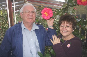 Don and Joan Lesmeister have been participating in Sacramento's Camellia Show for about the past 40 years. / Valley Community Newspapers photo, Lance Armstrong
