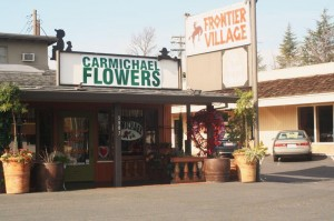 Carmichael Flowers has come full circle, relocating to 5907 Fair Oaks Blvd. in Carmichael. Old-timers in the neighborhood say that the store was originally at this location in 1955. / Valley Community Newspapers photo, Marc Maloney