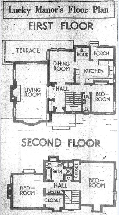 "The layout of Lucky Manor was designed to have a floor plan with good traffic flow, modern conveniences and ""home happiness."" / Photo courtesy, California State University Library archives"