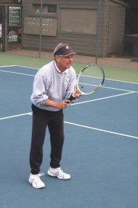 Jay Rich, who grew up next door to the Sutter Lawn Tennis Club, is one of the club's longtime members. / Valley Community Newspapers photo, Lance Armstrong