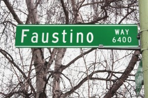 The Pocket area street, Faustino Way, was named in honor of Faustino Silva, who owned a slaughterhouse in the area from 1927 to 1948.  / Valley Community Newspapers photo, Lance Armstrong