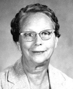 Effie Yeaw, a former, local kindergarten teacher, played an instrumental role in the movement to protect Sacramento's natural environment. / Photo courtesy, E. Stillman