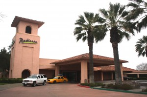 The Radisson Hotel at 500 Leisure Lane was originally constructed as the Hotel El Dorado. / Valley Community Newspapers photo, Lance Armstrong