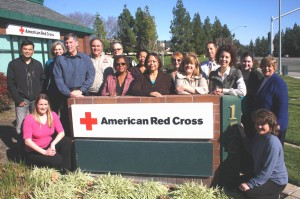 American Red Cross Capital Region Chapter members gather together at the chapter's headquarters near Cal Expo. / Valley Community Newspapers photo, Lance Armstrong