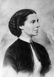"Clara Barton, who was also known as the ""Angel of the Battlefield,"" founded the American Red Cross in 1881. / Photo courtesy of the American Red Cross"