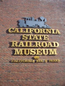Similar to the NBA's use of one of its former players, Los Angeles Lakers legend Jerry West, for its logo, the Railroad Museum logo features one of the museum's own stars, C.P. Huntington, a locomotive built for the Central Pacific Railroad in 1863. / Valley Community Newspapers photo, Lance Armstrong