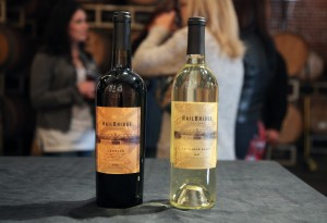Rail Bridge Cellars wines are both affordable and excellent. Both of these wines, Lattice and Sauvignon Blanc, are carried in local stores, including Corti Brothers. / Valley Community Newspapers photo, Stephen Crowley