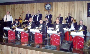 Fred Morgan and his professional big band will headline at the Pre-Jazz Jubilee Ball at Elks Lodge No. 6 in Sacramento on May 22. / Photo courtesy