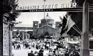 The entrance to the old California State Fairgrounds. The old fairgrounds were located at Stockton Blvd. and Broadway in Sacramento. / Photo courtesy, the Lance Armstrong collection