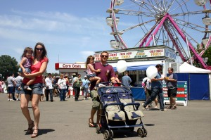 The Sacramento County Fair, which opens today at noon and continues through Memorial Day, provides entertainment for the entire family. / Valley Community Newspapers photo, Lance Armstrong