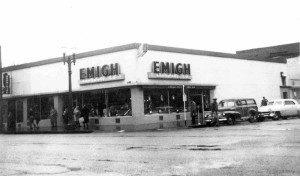 Emigh Hardware Co. was located in this building at 1300 J St. from 1932 to 1952. / Photo courtesy, Emigh Ace Hardware